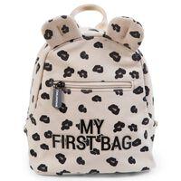 CHILDHOME Mochila infantil My First Bag lona leopardo