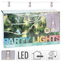ProGarden Set de lámparas LED para fiestas 20 bombillas 12 V