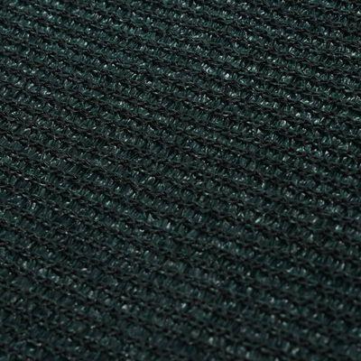 vidaXL Alfombra para tienda de campaña verde oscuro 200x200 cm