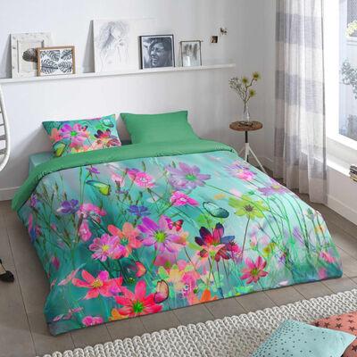 Good Morning Funda de edredón BELLE 140x200/220 cm multicolor