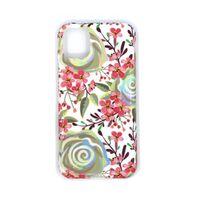 Funda móvil antigolpes con soporte para iPhone 11 Pro Max - Flores
