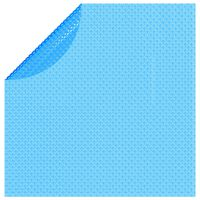vidaXL Cubierta solar de piscina de PE redonda y flotante 455 cm azul