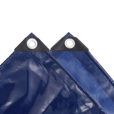 vidaXL Lona 650 g/m² 4x5 m azul