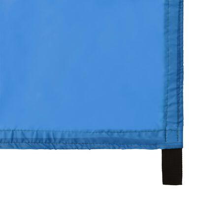 vidaXL Toldo de jardín azul 4x4 m
