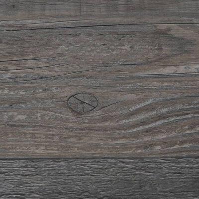 vidaXL Lamas para suelo de PVC madera industrial 5,26 m² 2 mm
