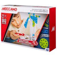 Meccano Set de construcción e invención 3 Geared Machines