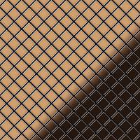 ALLOY Diamond-Ti-AM Mosaico de metal sólido Titanio cobre