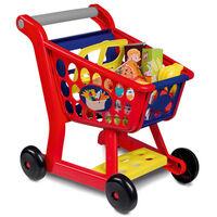 Happy People Carrito de la compra de juguete plástico multicolor