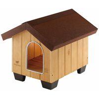 Ferplast Caseta para perros Domus Mini madera 50x65x47,5 cm 87000000