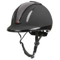 Covalliero Casco para cabalgar Carbonic VG1 Junior antracita 32720