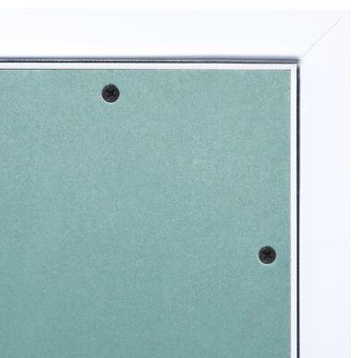 vidaXL Panel de acceso estructura aluminio y placa de yeso 600x600 mm