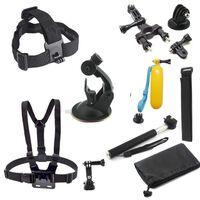 Kit de accesorios para cámaras de acción GoPro 10 piezas