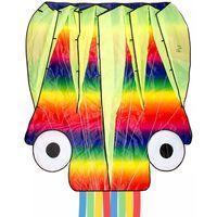 Dragon Fly Cometa en forma de pulpo multicolor 124x127 cm