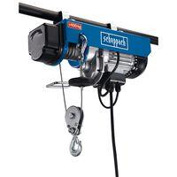 Scheppach Polipasto eléctrico de cuerda HRS400 780 W