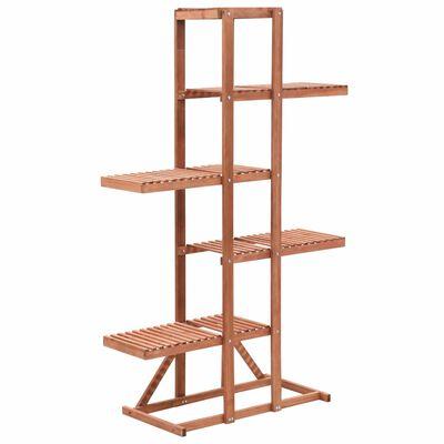 vidaXL Soporte para plantas de madera de cedro 86x36x139 cm