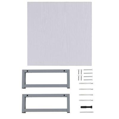 vidaXL Mueble de cuarto de baño blanco 40x40x16,3 cm