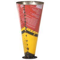 vidaXL Paragüero de hierro multicolor 29x55 cm