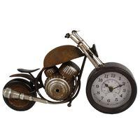 Gifts Amsterdam Reloj de mesa Motor metal marrón 35x13x17,5cm