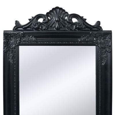 vidaXL Espejo de pie estilo barroco 160x40 cm negro