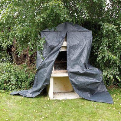 Nature Funda de muebles de jardín para barbacoa de obra 253x128x80 cm