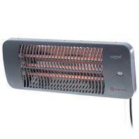 Sunred Calefactor de pared para patio Lugo cuarzo gris 2000 W