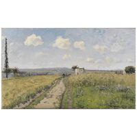 Cuadro Lienzo - Mañana De Junio En Pontoise - Camille Pissarro