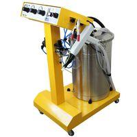 Máquina De Pintura En Polvo Electrostática Para Curado 45l Pistola