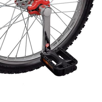 Monociclo rojo ajustable, 16 pulgadas