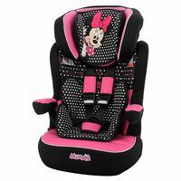 Disney Silla de coche para niños I-Max Minnie grupo 1+2+3 negro