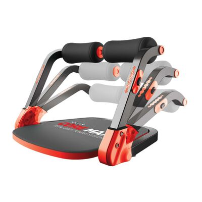 Iron Gym Sistema de entrenamiento corporal Core Max rojo y negro