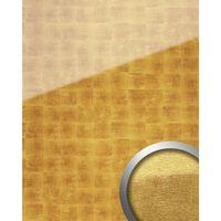 Wallface 17840-sa-ar Panel De Pared Dibujo Abstracto Oro