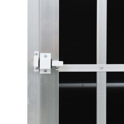 vidaXL Jaula de perro con puerta única 65x91x69,5 cm