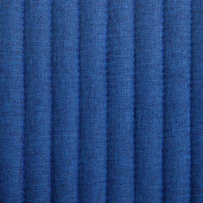 vidaXL Sillas de comedor 4 unidades tela azul