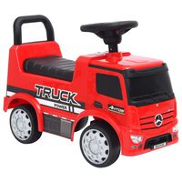 vidaXL Coche para niños Mercedes Benz Truck rojo
