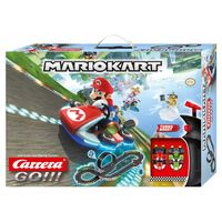 Carrera GO Set de pista eléctrica y coches Nintendo Mario Kart 8 1:43