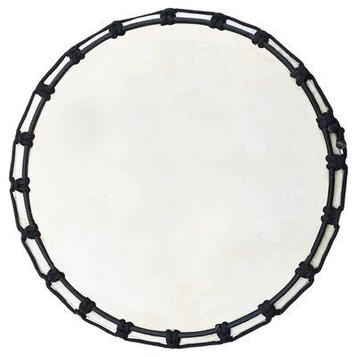 """vidaXL Tambor djembe con tensores de cuerda piel de cabra 12"""""""