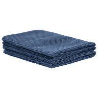 vidaXL Alfombra de tienda de campaña 250x500 cm azul