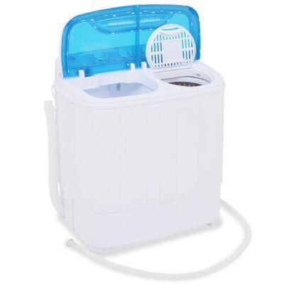 vidaXL Mini lavadora con 2 tambores 5,6 kg