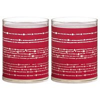 Bolsius Velas Sparkle 6 unidades cinta roja 103622390541
