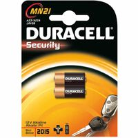 Pila Alcalina M.dis.bl 2 3lr50 - DURACELL - MN21 B2 - 12 V
