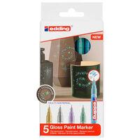 edding Rotulador de tinta brillante 5 unidades multicolor 780