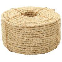 vidaXL Cuerda 100% sisal 10 mm 50 m