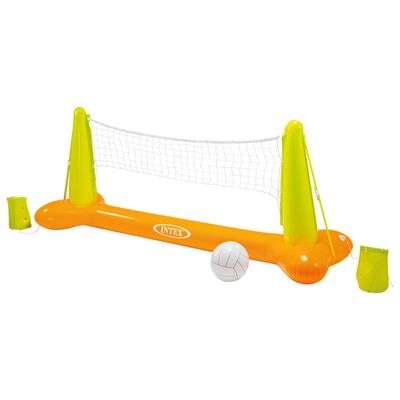 Intex Juego de voleibol de piscina 239x64x91 cm