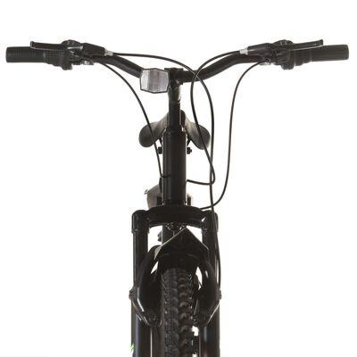 vidaXL Bicicleta montaña 21 velocidades 26 pulgadas rueda 42 cm negro