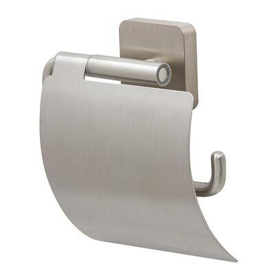 Tiger Portarrollos de papel higiénico con tapa Onu acero inoxidable