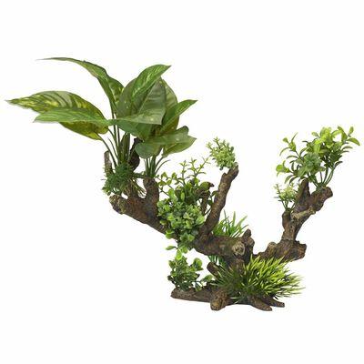 Aqua d'ella Planta artificial 5 tamaño XL 33,5x16x27,5 cm 234/432099