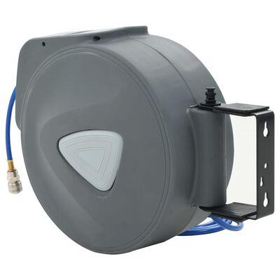 "vidaXL Carrete de manguera de aire automático de 1/4"" 30 m"