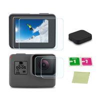 Kit de accesorios negro GoPro 5/6/7 - protector de pantalla, cubierta