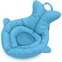 Skip Hop Asiento blando de bebé para baño Moby azul