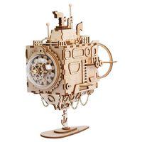 Robotime Kit maqueta DIY de caja de música Steampunk Submarine